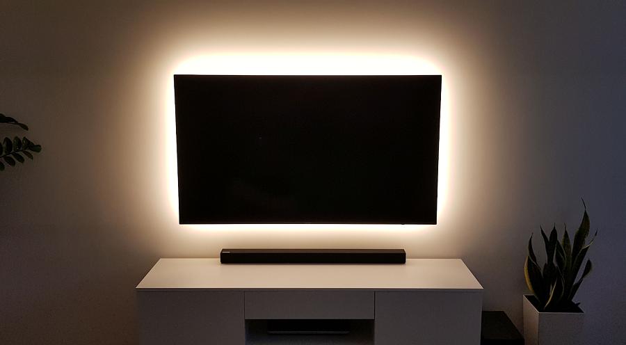 Tip na záver – osvetlenie televízora