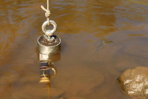 Magnetic fishing