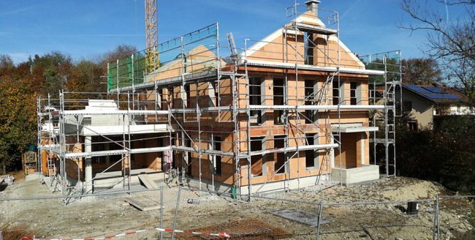 Stavba nízko energetického domu